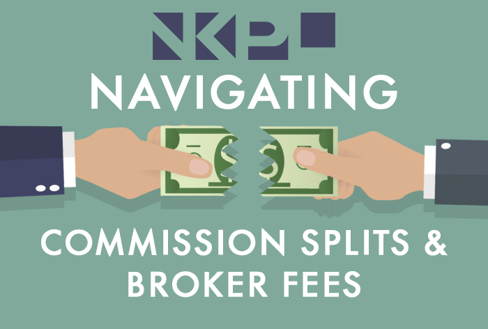 commission splits and broker fees