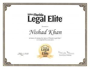 Nishad Khan - Florida Legal Elite
