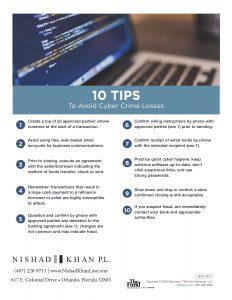 avoid cyber crime