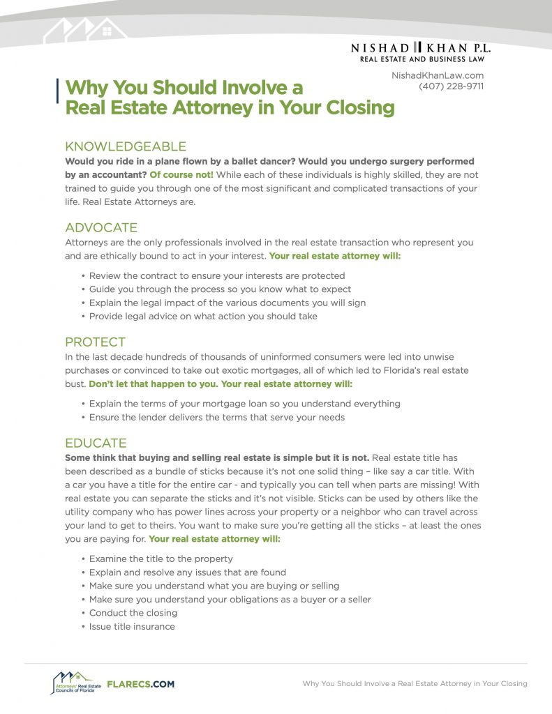 real estate closing