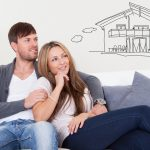 couple thinking of getting their house